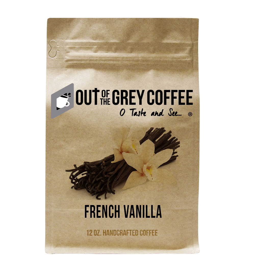 French Vanilla - Flavored Organic Coffee
