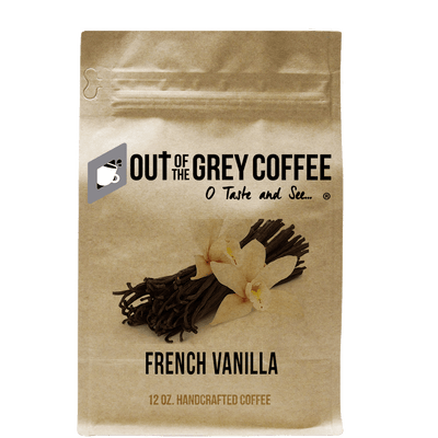French Vanilla Flavored Organic Coffee - Out Of The Grey Coffee
