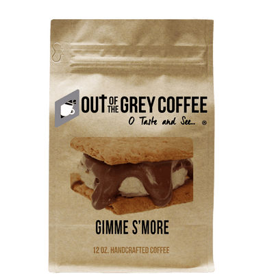Gimme S'more Flavored Organic Coffee - Out Of The Grey Coffee