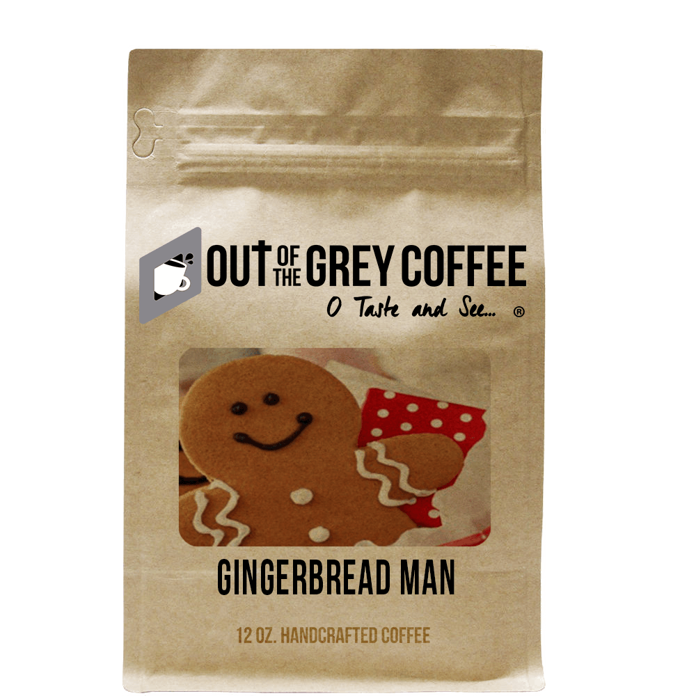 Gingerbread Man - Flavored Organic Coffee