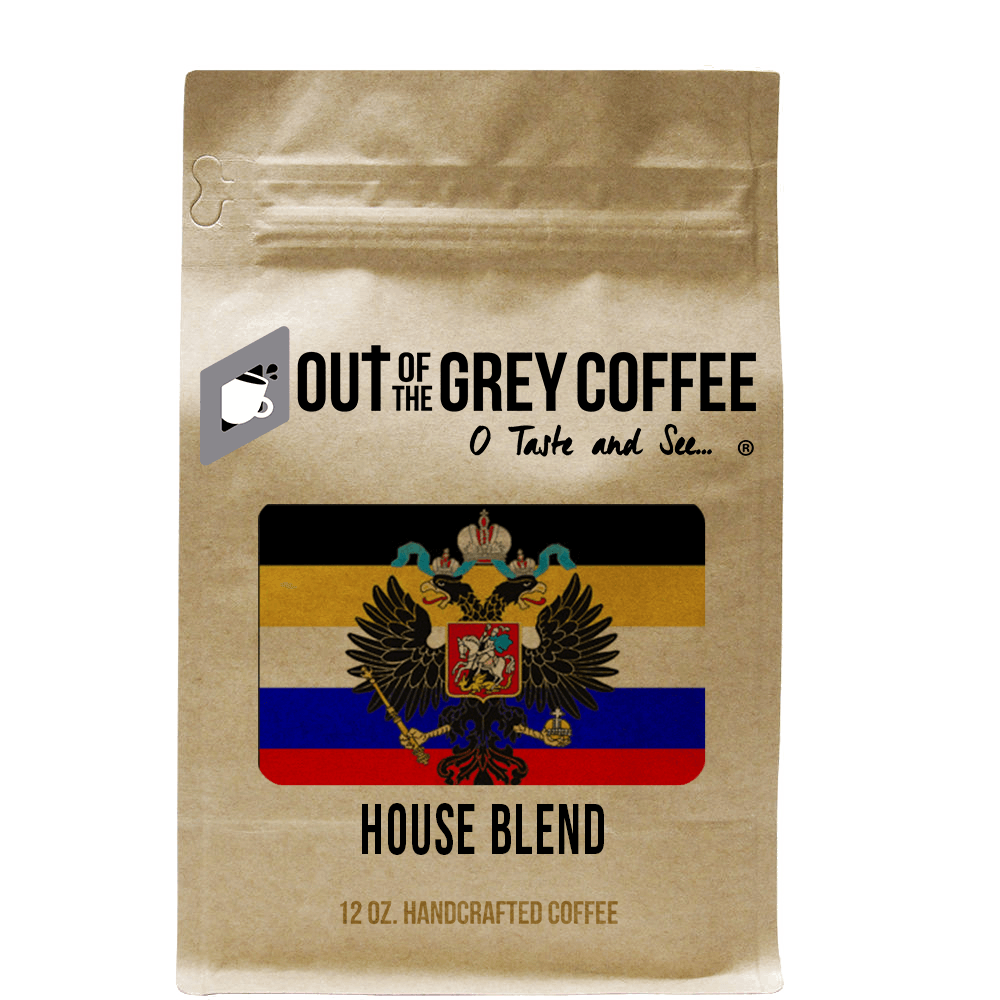 House Organic Coffee Blend - Out Of The Grey Coffee