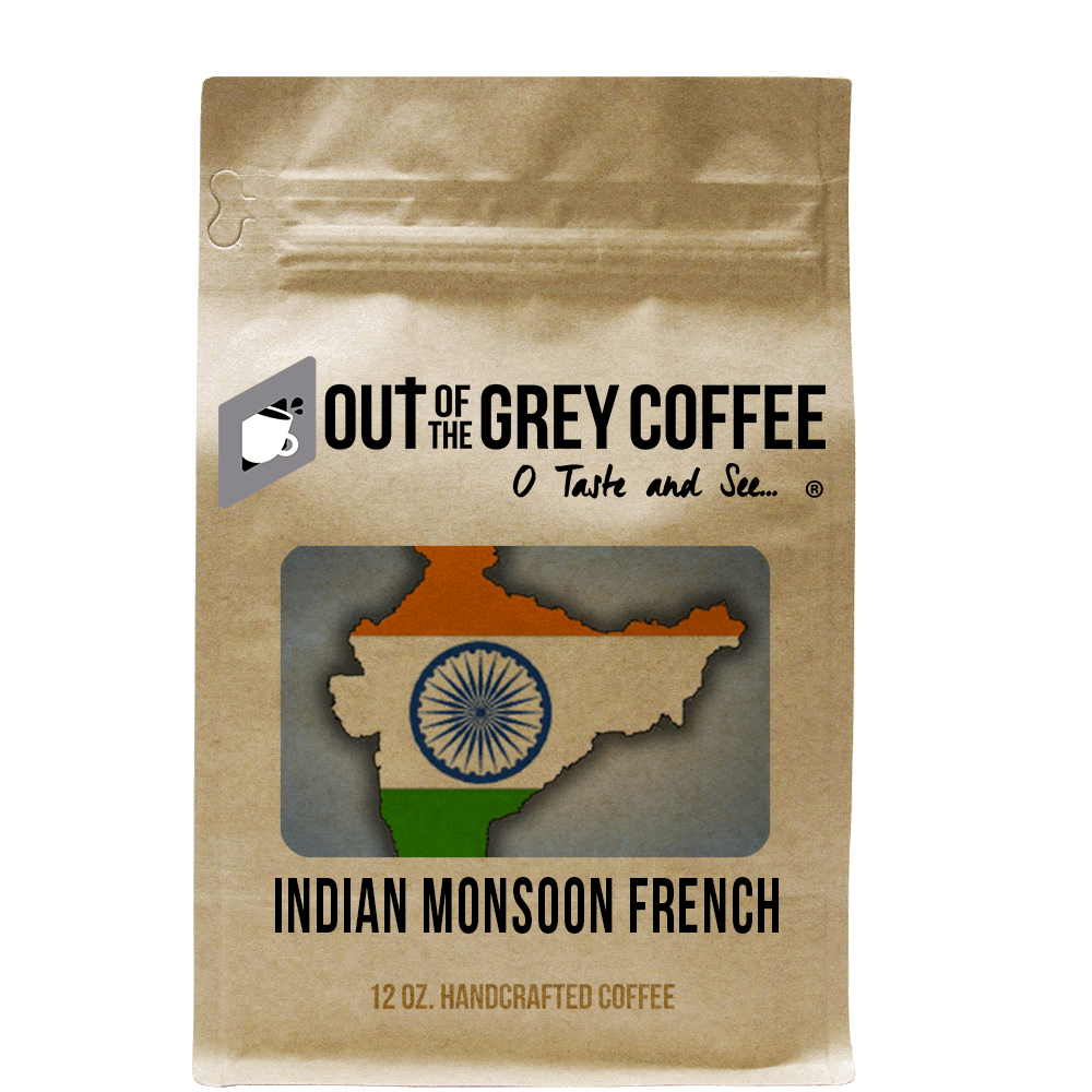 Single Origin - Indian Monsoon French - Organic Coffee