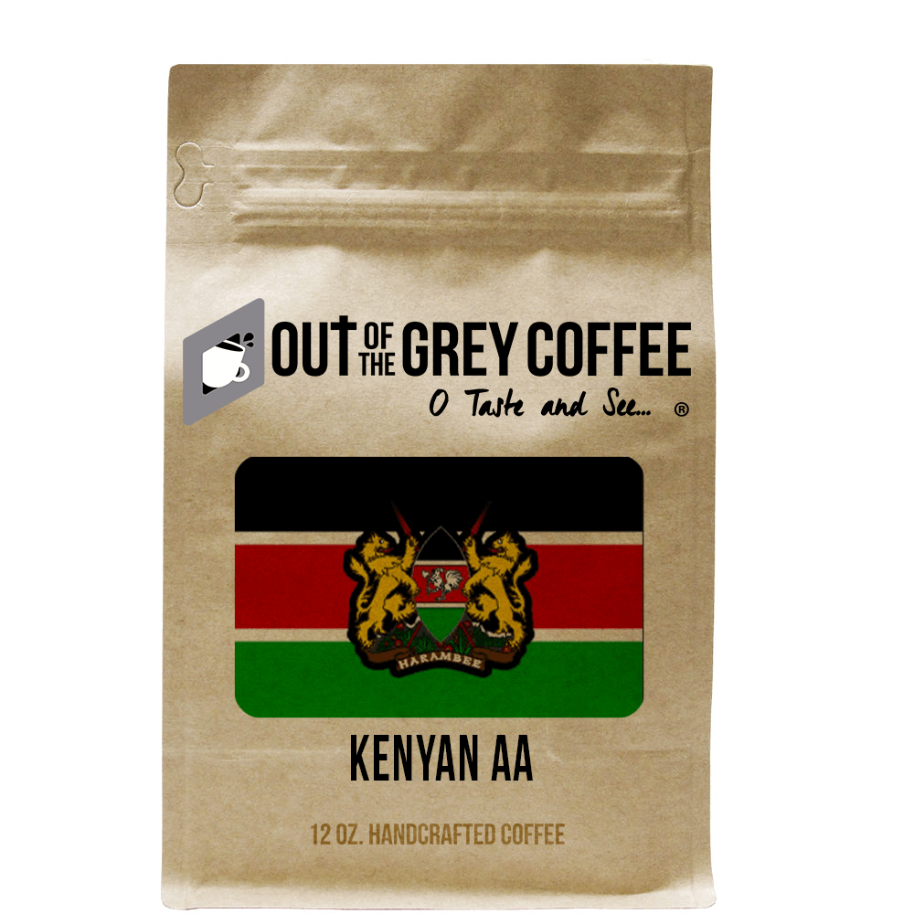 Single Origin Kenyan AA Organic Coffee