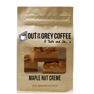 Maple Nut Creme Flavored Organic Coffee - Out Of The Grey Coffee