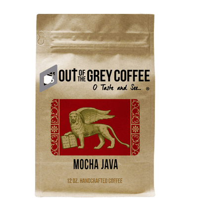 Mocha Java Organic Coffee Blend - Out Of The Grey Coffee