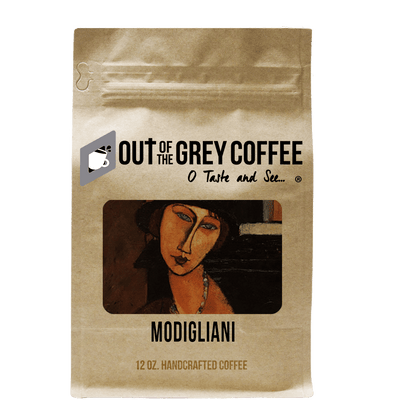 Modigliani Organic Coffee Blend - Out Of The Grey Coffee