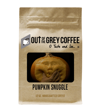 Pumpkin Snuggle Flavored Organic Coffee