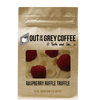 Raspberry Ruffle Truffle Flavored Organic Coffee - Out Of The Grey Coffee