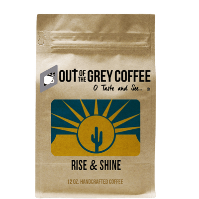 Rise & Shine Organic Coffee Blend - Out Of The Grey Coffee