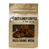 Rocca Caramel Mocha Flavored Organic Coffee - Out Of The Grey Coffee