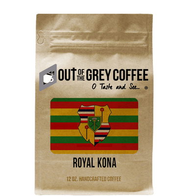Single Origin Royal Kona Greenwell Estate Extra Fancy Organic Coffee