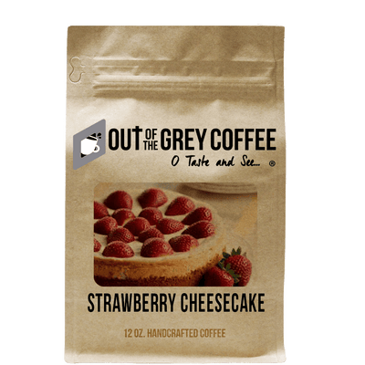 Strawberry Cheesecake - Flavored Organic Coffee