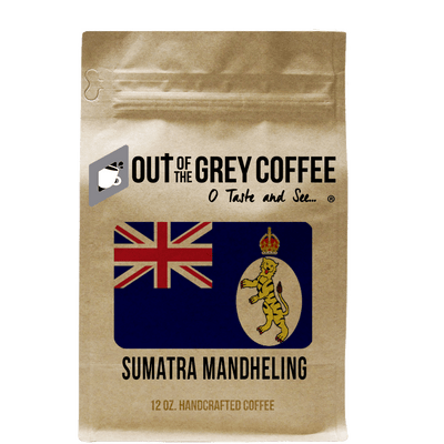Single Origin Sumatra Mandheling Organic Coffee - Out Of The Grey Coffee