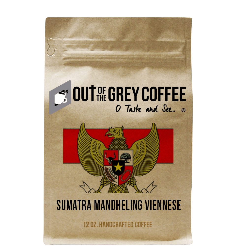 Single Origin - Sumatra Mandheling Viennese - Organic Coffee