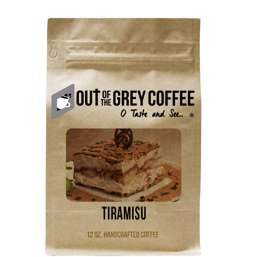 Tiramisu - Flavored Organic Coffee