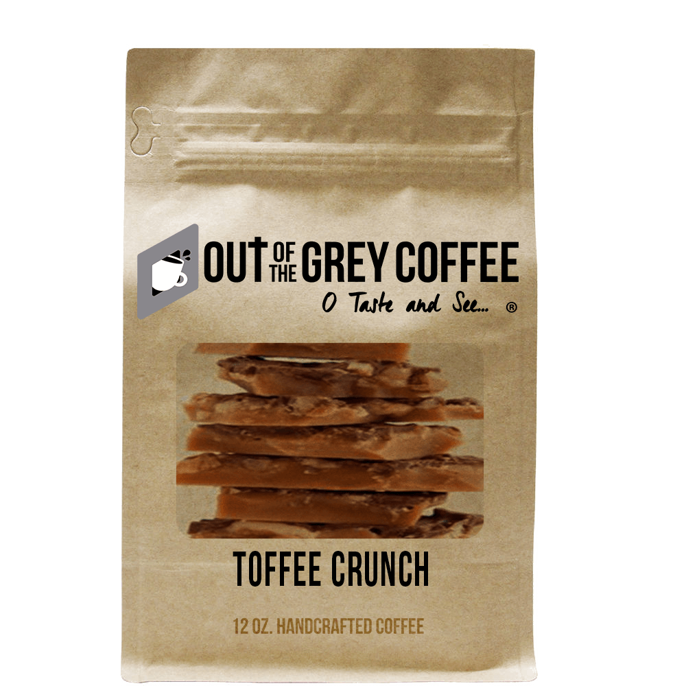 Toffee Crunch - Flavored Organic Coffee