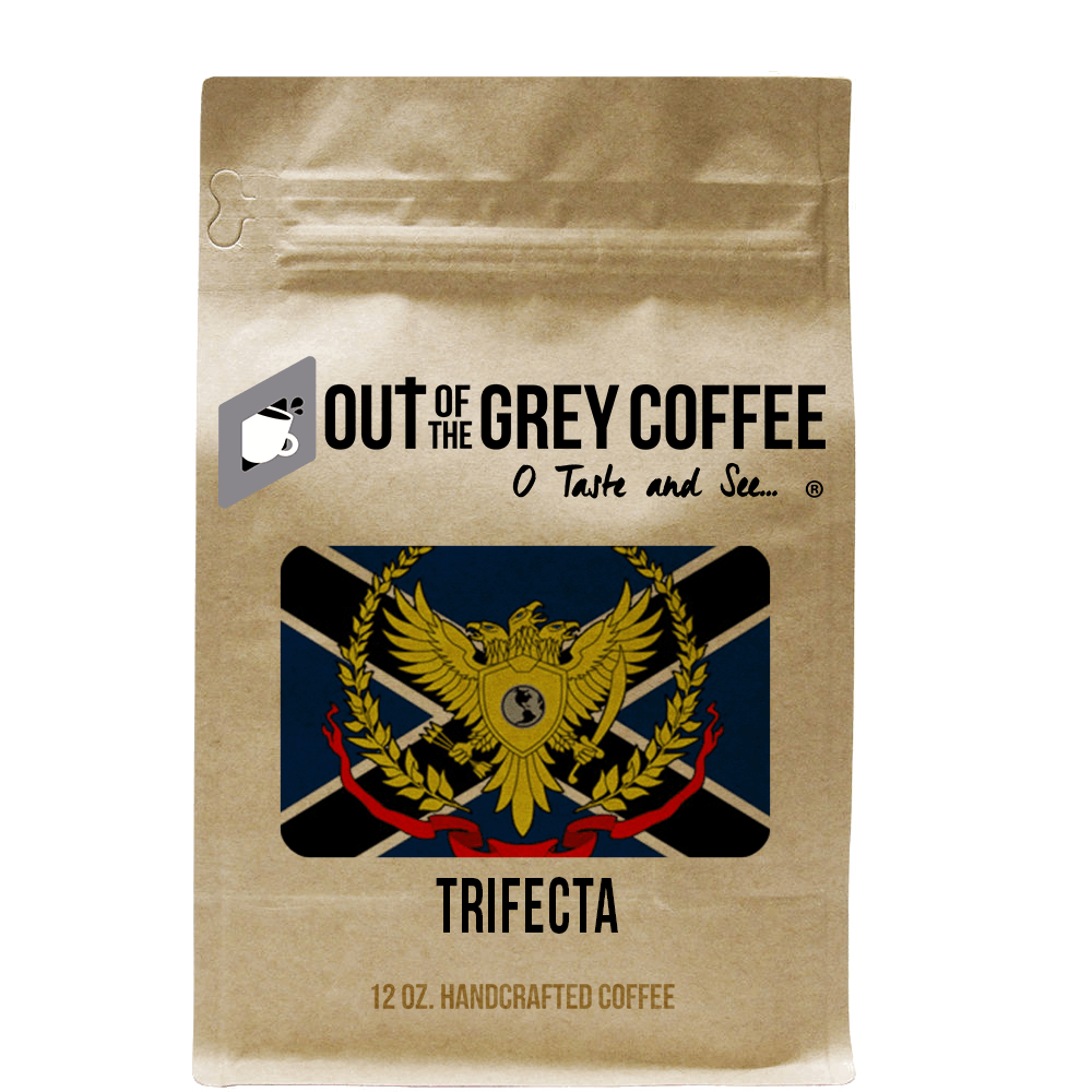 Trifecta Organic Coffee Blend - Out Of The Grey Coffee