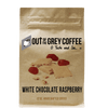 White Chocolate Raspberry Flavored Organic Coffee - Out Of The Grey Coffee