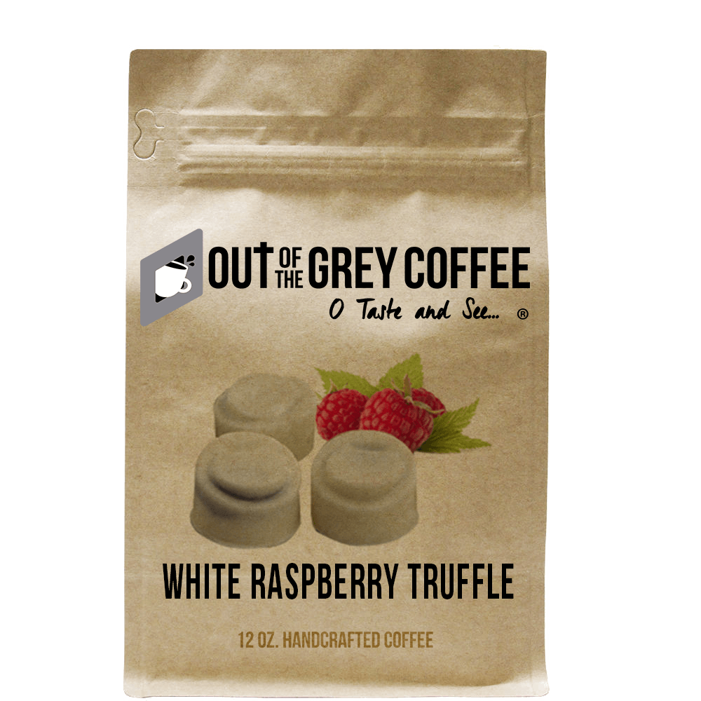 White Chocolate Raspberry Truffle - Flavored Organic Coffee
