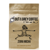 Zebra Mocha Flavored Organic Coffee - Out Of The Grey Coffee
