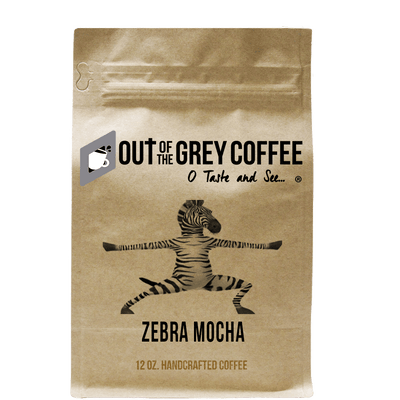 Zebra Mocha Flavored Organic Coffee