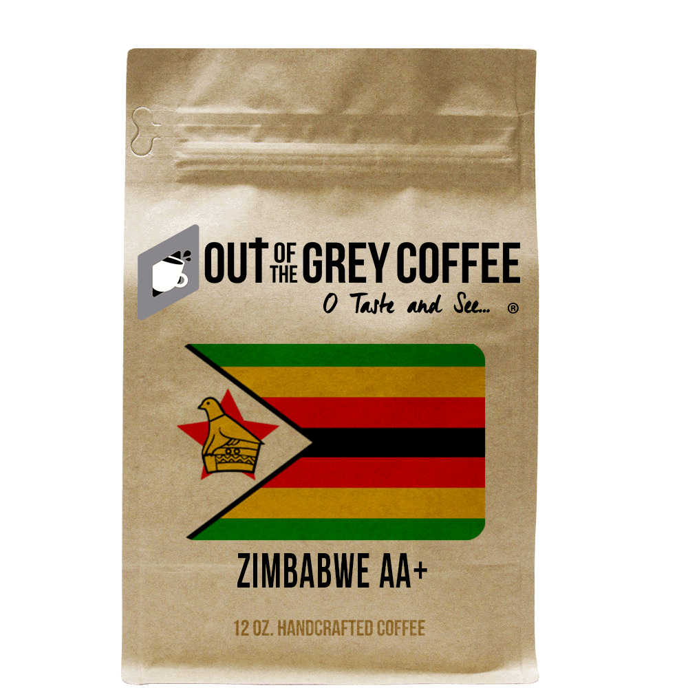 Single Origin - Zimbabwe AA+ Smaldeel Estate - Organic Coffee
