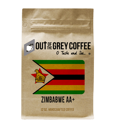 Single Origin Zimbabwe AA+ Smaldeel Estate Organic Coffee - Out Of The Grey Coffee