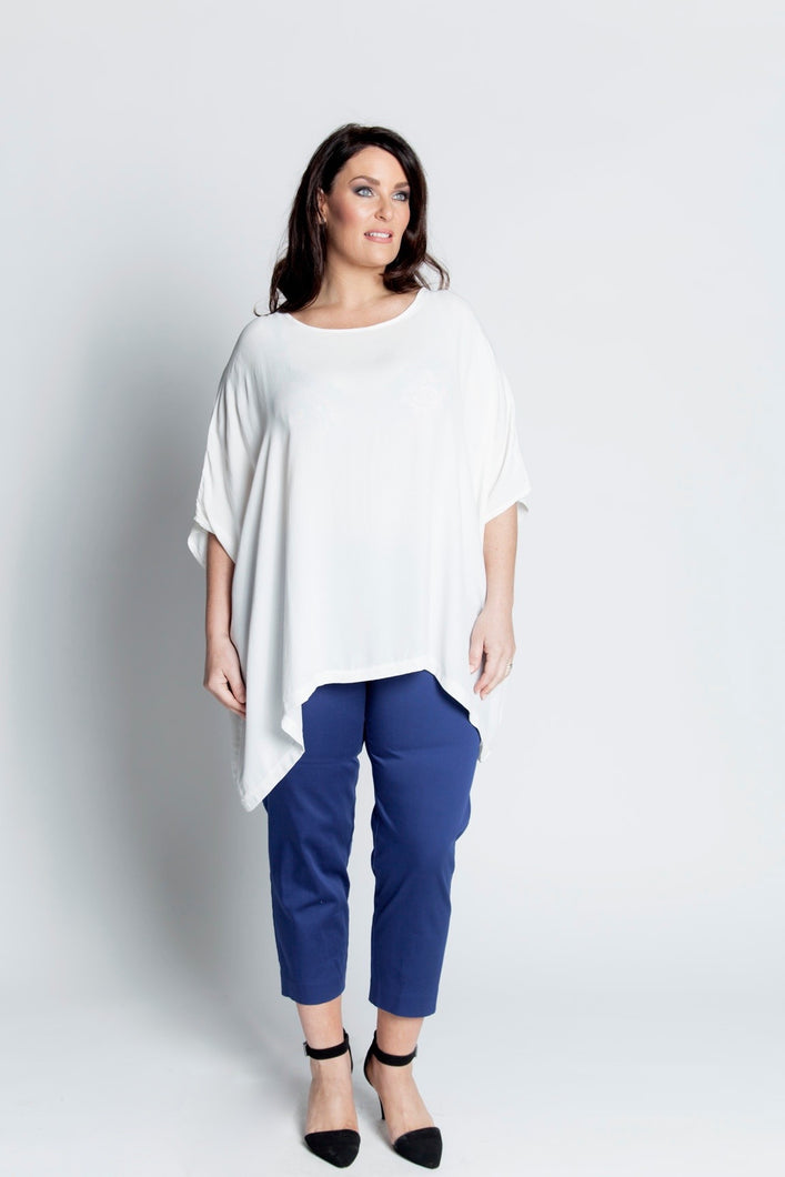 Alison Dominy Market Place ALISON DOMINY Annabelle Top plussize curvy workwear womenswear menswear inbetweenie fashion