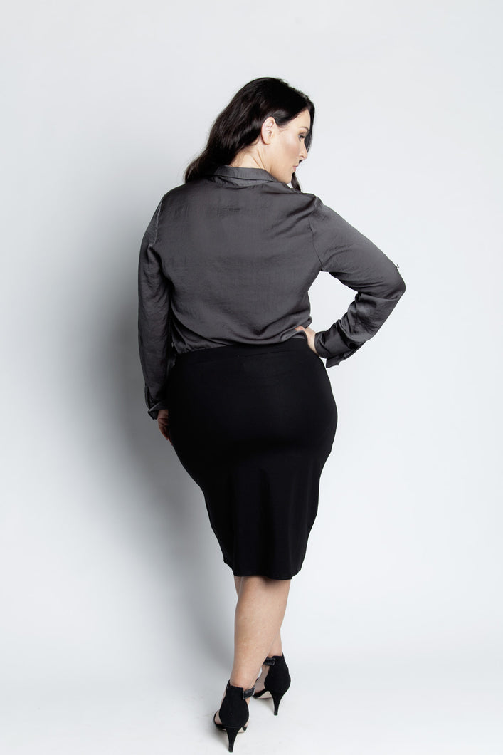 Alison Dominy Market Place ALISON DOMINY Annie Blouse plussize curvy workwear womenswear menswear inbetweenie fashion