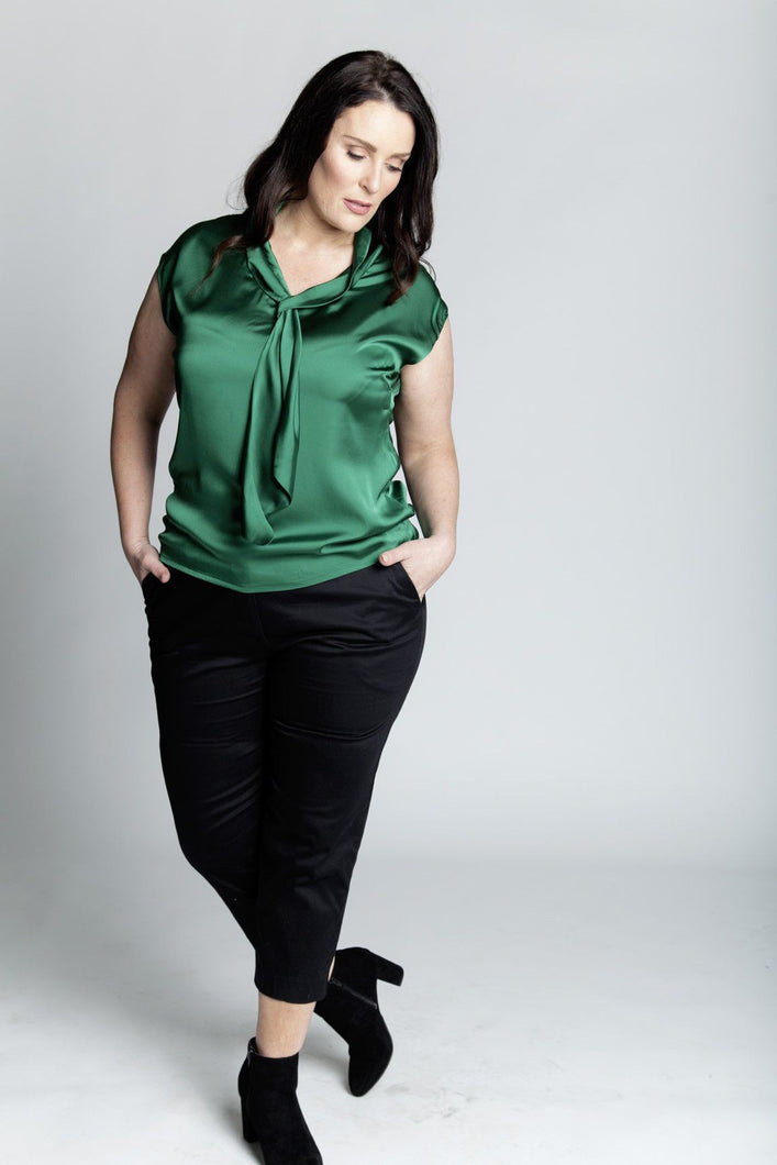 Alison Dominy Market Place ALISON DOMINY Emily Pant plussize curvy workwear womenswear menswear inbetweenie fashion