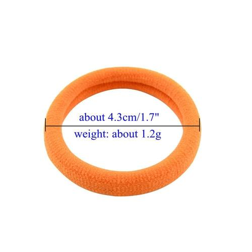100 PCS/Lot Baby Girl Infant Kids Elastic Hair Tie Holder Bands Headbands Accessories Rope Ring-inSowni