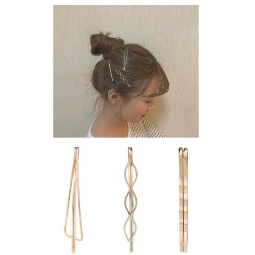 12 Pack Gold Vintage Retro Pearl Stone Metal Hair Clips Decorative Bobby Pins Snap Barrette Comb Stick Claw Clamp Bobby Pins-Hair Pins-inSowni