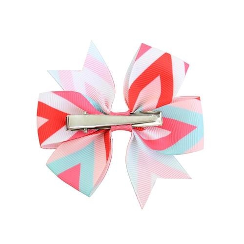 "12 Pcs/Lot 3"" Colorful Hair Bow Alligator Clips for Baby Girl Kids Handmade Barrettes Hair Accessory-inSowni"