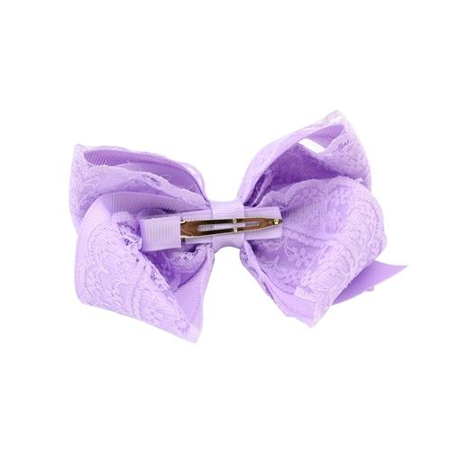 "12 PCS/Lot 4"" Inch Baby Girl Kids Hair Bow Alligator Covered Clips Barrettes Pins DIY Flower-inSowni"