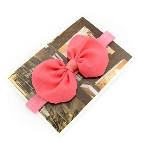 12 PCS/Lot Chiffon Bow Headbands Hair Bands for Baby Girl Toddlers Kids Children DIY Accessories-inSowni