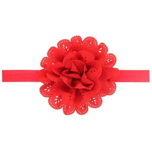 12 PCS/Lot Chiffon Flower Headband Hair Band Bow for Baby Girl Toddlers Infants Kids Children DIY-inSowni