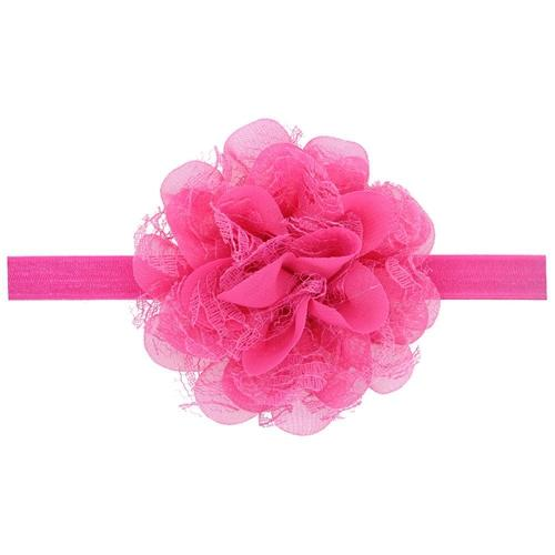 12 PCS/Lot Chiffon Flower Lace Headband Hair Band Bow for Baby Girl Toddlers Infants Kids Children DIY-inSowni