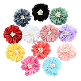 12pcs Baby Girl Toddler Kids Children Flower Hair Bow Clips Barrettes Pins Accessories Headdress-inSowni