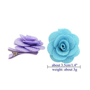 14pcs Fashion Baby Girl Toddler Kids Children Flower Hair Bow Clips Barrettes Pins Accessories-inSowni