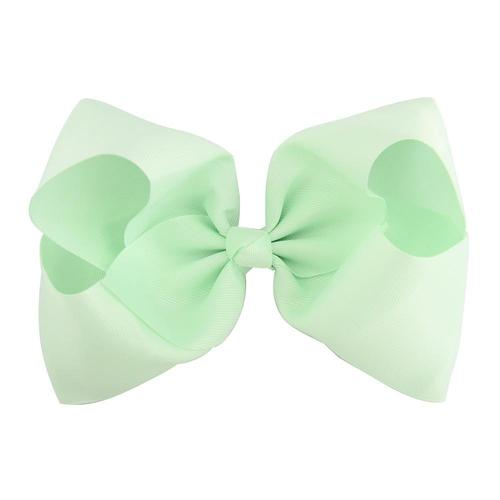 "16 Pcs/Lot Grosgrain 8"" Big Large Bow Hair Clips for Baby Girl Toddlers Kids Children Hair Accessories-inSowni"