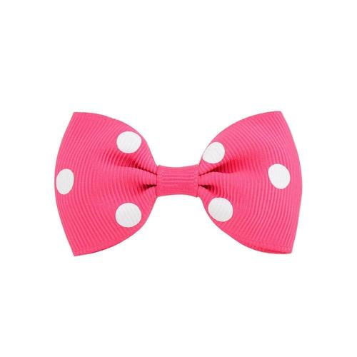 "20 Pcs/Lot 2.8"" Polka Dot Alligator Hair Bow Clips for Baby Girl Toddlers Kids Children Hair Accessories-inSowni"