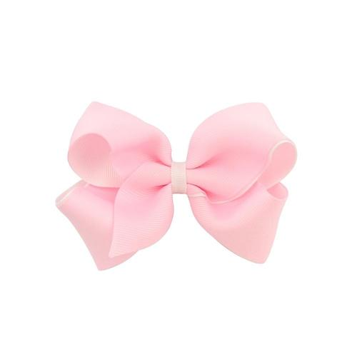 "20 Pcs/Lot 4"" Bi-color Hair Bow with Covered Clips for Baby Girl Kids Barrettes Hair Accessories-inSowni"