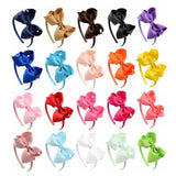 20 PCS/Lot Bow Hair Clasp Hoop Headbands Tiara Band Accessories Baby Girl Toddlers Infant Children-inSowni