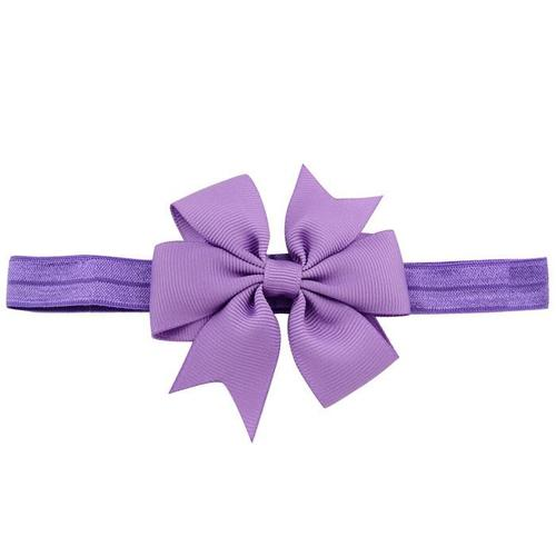 "20pcs/Lot 3"" Grosgrain Ribbon Hair Bow Headbands Accessories Hairband Flower for Baby Girl Kids-inSowni"