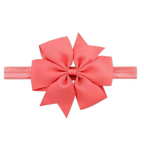 "20pcs/Lot 4.3"" Ribbon Hair Bow Headbands Hairband Flower for Baby Girl Toddlers Kids Children-inSowni"