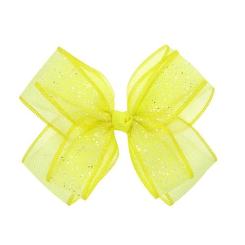 "4pcs/Lot 5"" Sequin Glitter Bow Hair Clips Hairpins for Princess Baby Girl Toddlers Kids Hair Barrettes-inSowni"
