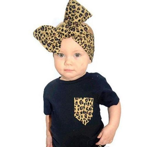 6PCS/Lot Leopard Print Headband Bulk for Baby Girl Kids Toddlers Hair Accessories Headwear Bands-inSowni