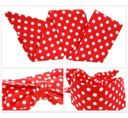 6PCS/Lot Self Tie Plaids Polka Dot Flower Whale Bunny Ears Headband Hair Bands Bow Pack Kids Infant-inSowni
