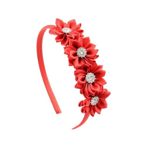 7 PCS/Lot Flower Hair Clasp Hoop Headbands Tiara Band Accessories Baby Girl Toddlers Children-inSowni