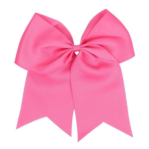 "8"" Elastic Hair Bow Ties Rope Band Ponytail Holder Flower Headbands for Baby Toddler Girls Kids-inSowni"